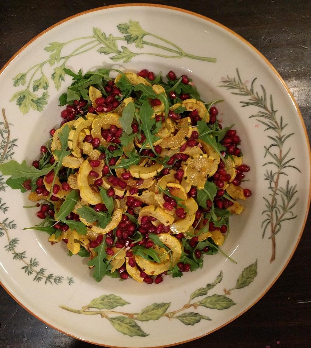 Blank Slate Culinary Delicata Squash Salad