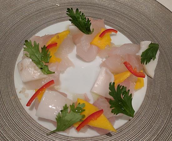 Blank Slate Culinary Thai fluke crudo
