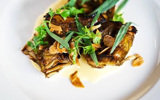 Blank Slate Culinary artichoke dish