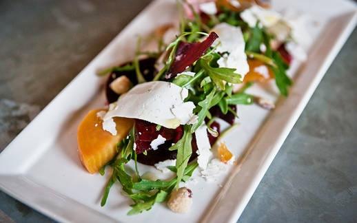 Blank Slate Culinary beet salad dish