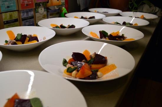 Blank Slate Culinary beet salads