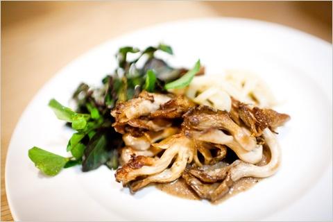Blank Slate Culinary roast mushroom dish